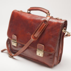 Italian Leather Briefcase