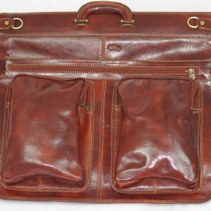 Italian Leather Garment Bag