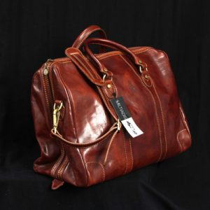 Italian Traveling Leather Bags