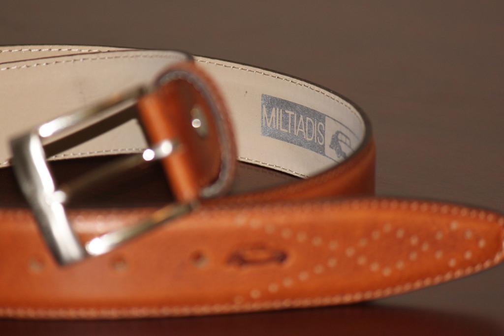 Italian Leather Belt | Brown