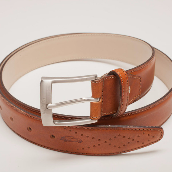 Italian Leather Belt | Brown