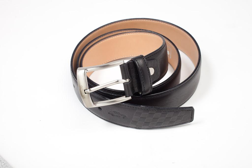 Italian Leather Belt | Black
